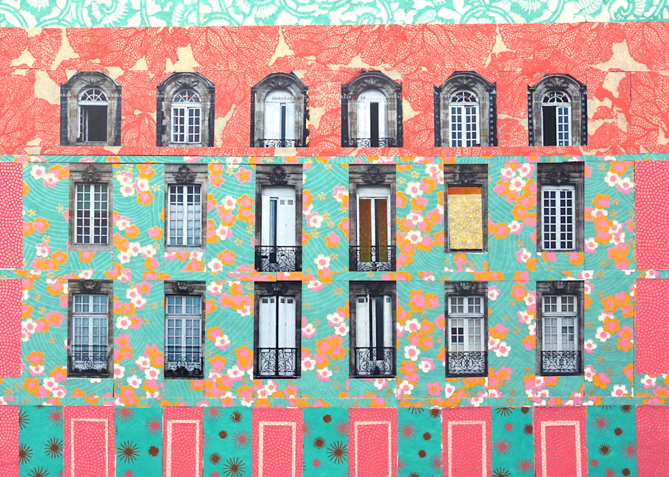 Windows Of Heaven. Art   Courtney Miller Bellairs Artist