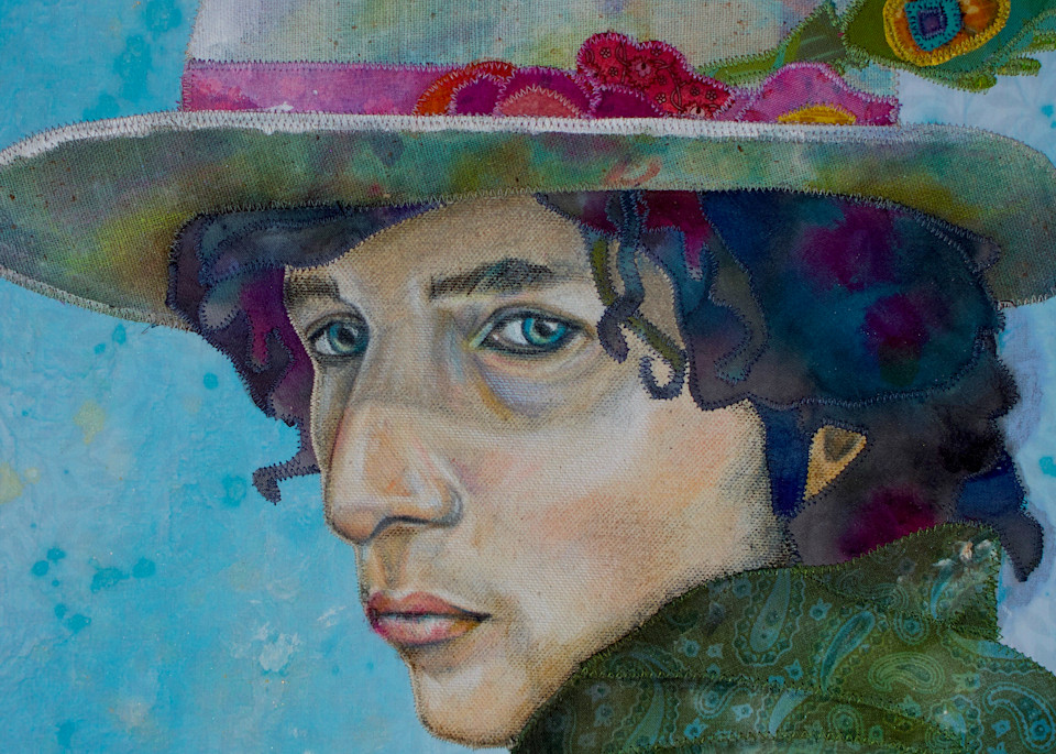 Bob Dylan Tangled Up  Art | Karen Payton Art