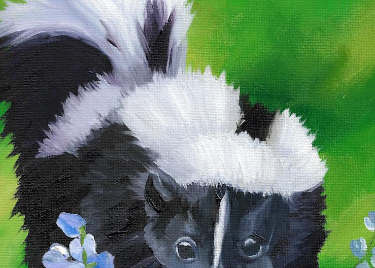 Flower Skunk | Brittany Selfe