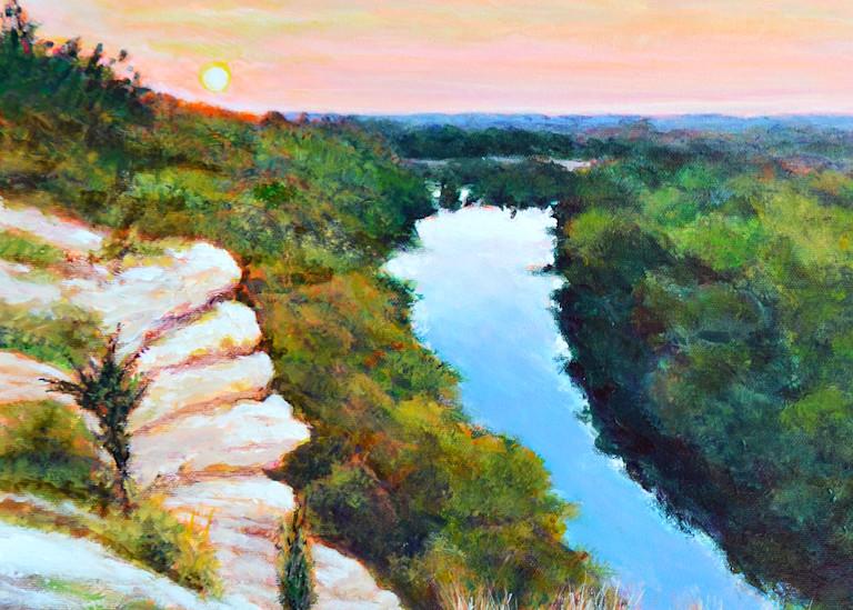 Lovers Leap Cameron Park Waco Art | Charles Wallis