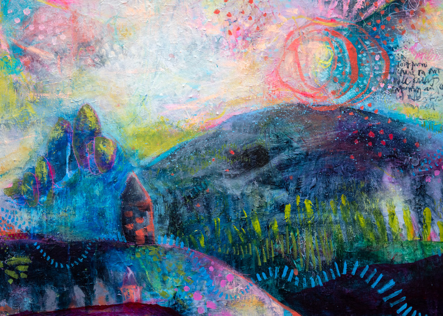 That Place Called Home Art | Jessica Hughes Fine Art
