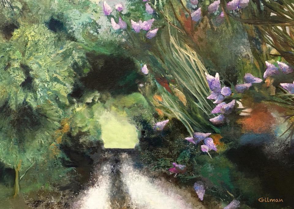 """Crepe Myrtles"" Original Artwork by Emily Gilman beezley"