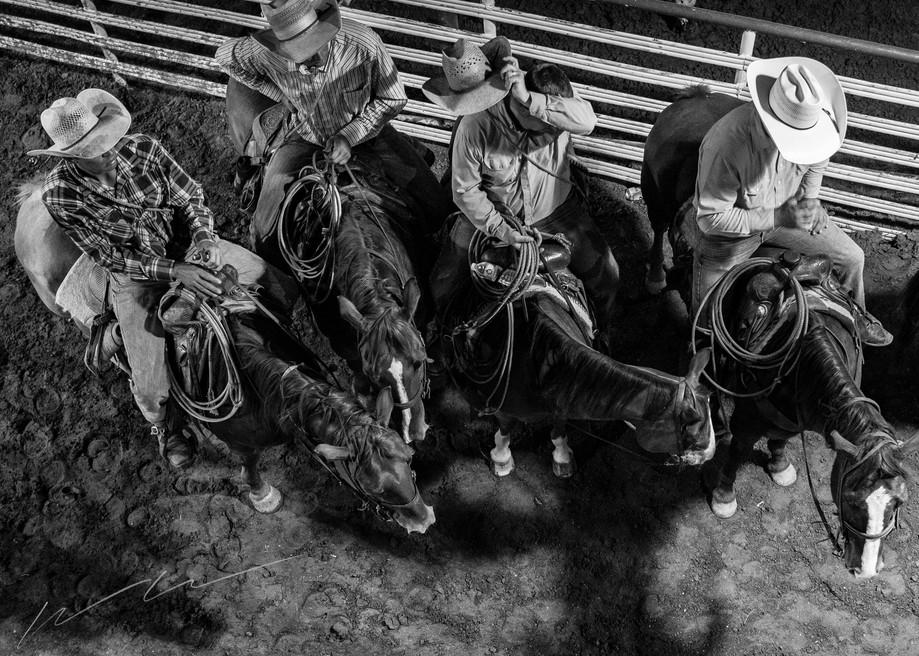 The Four Horsemen Photography Art | Harry John Kerker Photo Artist
