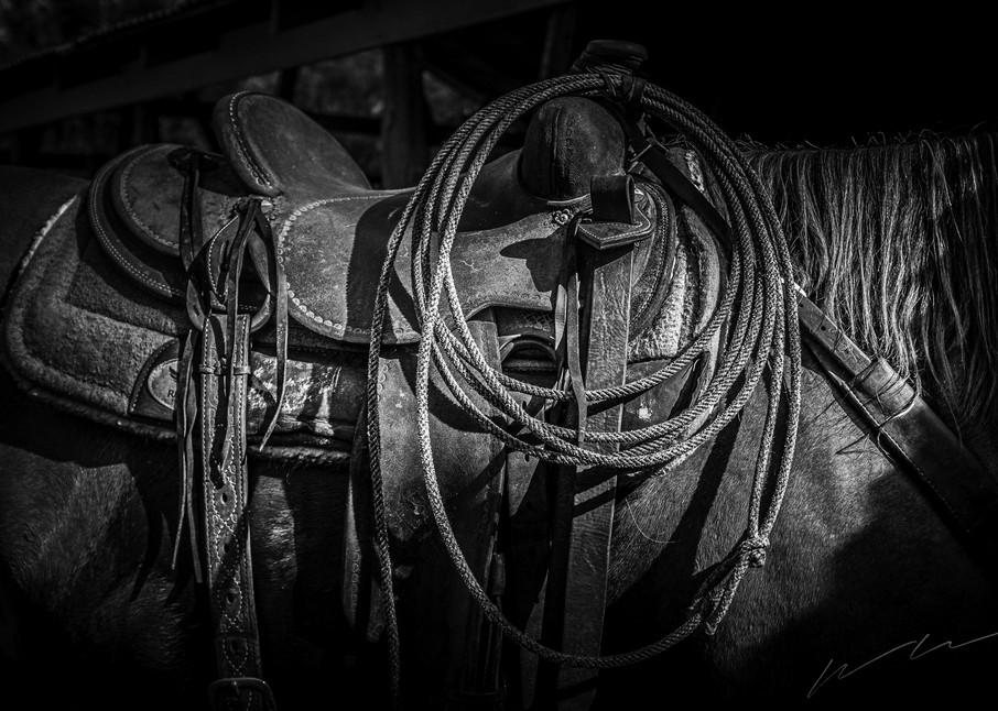 A Cowboy's Tack Photography Art | Harry John Kerker Photo Artist