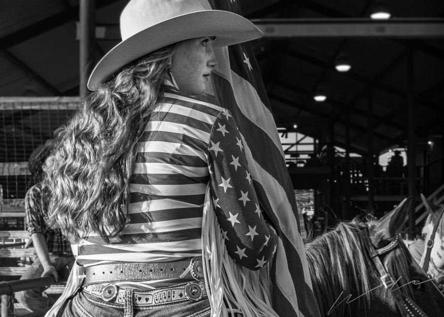 Cowgirl Photography Art | Harry John Kerker Photo Artist