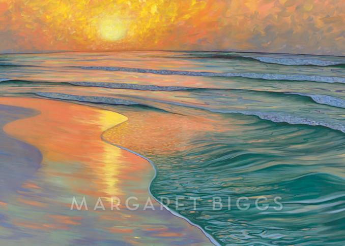 The Sun Always Rises  Art   Margaret Biggs Fine Art