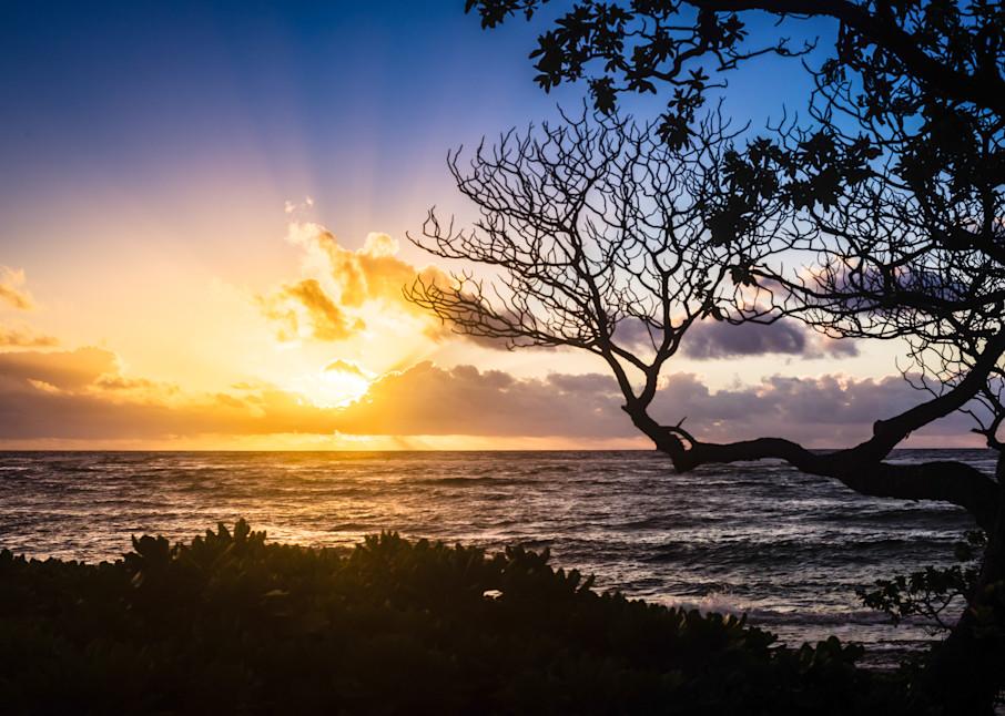 Sunrise On Kauai is a fine art photograph available for sale.