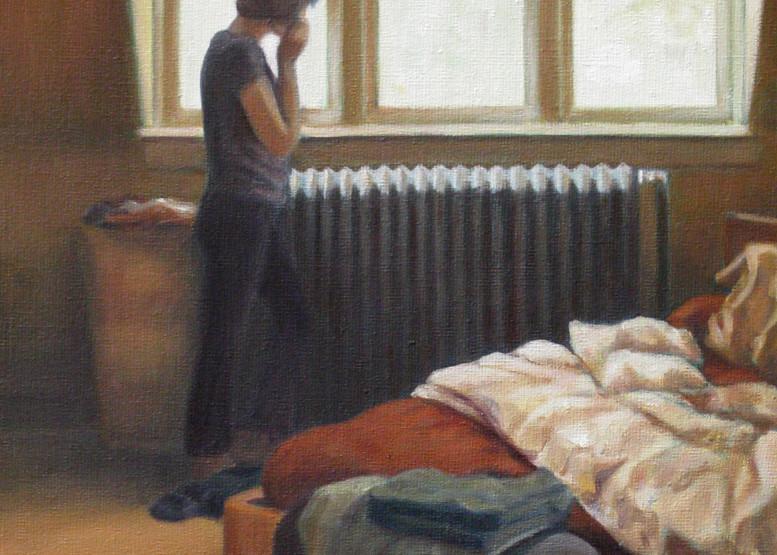 By The Bedroom Window Art | Lidfors Art Studio