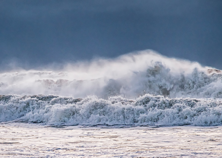Lucy Vincent Beach White Waves Art | Michael Blanchard Inspirational Photography - Crossroads Gallery