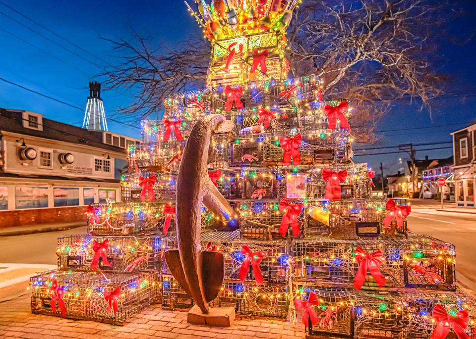 Provincetown Christmas Tree Art | Michael Blanchard Inspirational Photography - Crossroads Gallery
