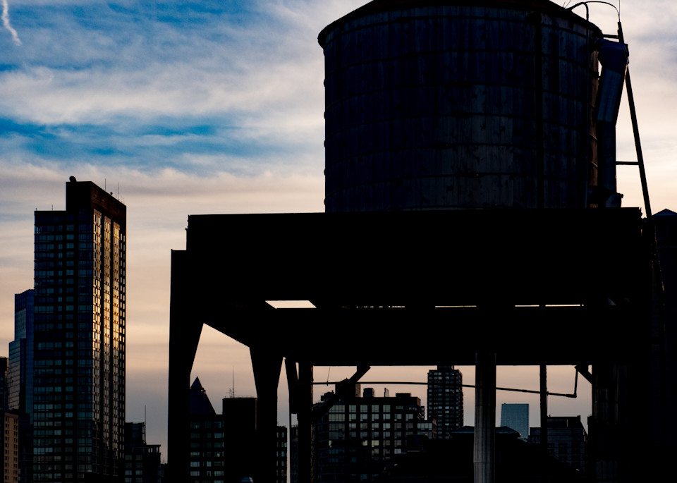 Last Light On West Side, Nyc Photography Art | Ben Asen Photography