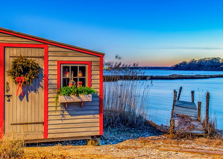 Lagoon Pond New Year S Sunrise 202 Art | Michael Blanchard Inspirational Photography - Crossroads Gallery