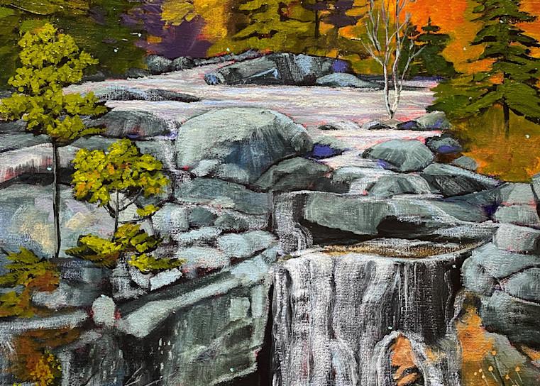 Waterfall (Print) Art | Marissa Sweet