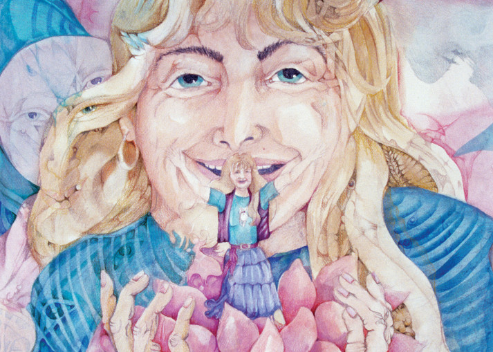 Lotus Of Awakening Art | Dena McKitrick