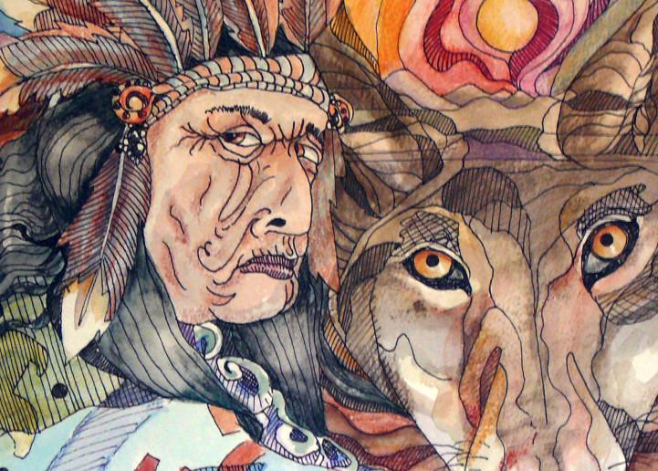 Wolfind Art   Dena McKitrick