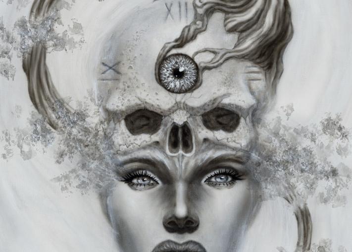 Dali Dreams Death Maiden