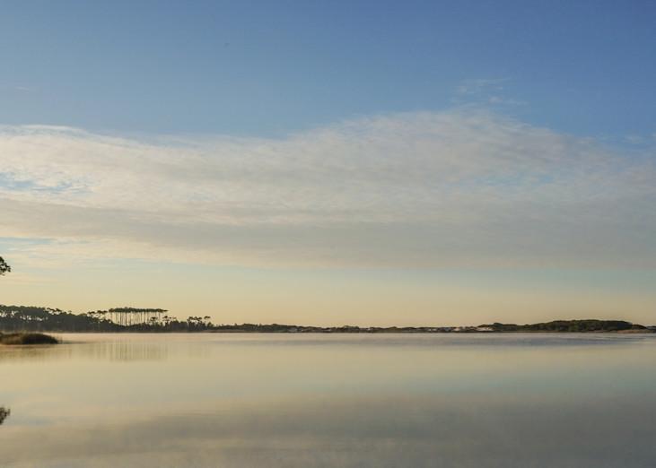 Western Lake Morning Blues Art   Modus Photography