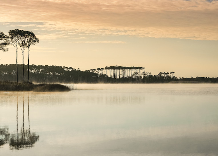 Western Lake Sunrise Art   Modus Photography