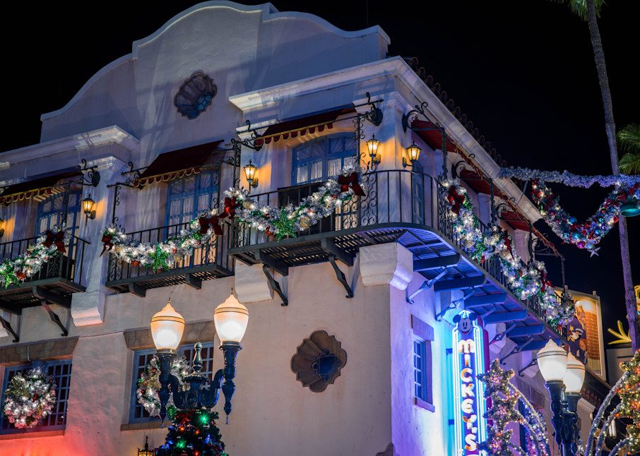 Mickey's Of Hollywood Christmas Photography Art   William Drew Photography