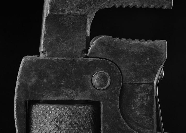 Warren Oldham's Pipe Wrench 2001 Photography Art | Rick Gardner Photography
