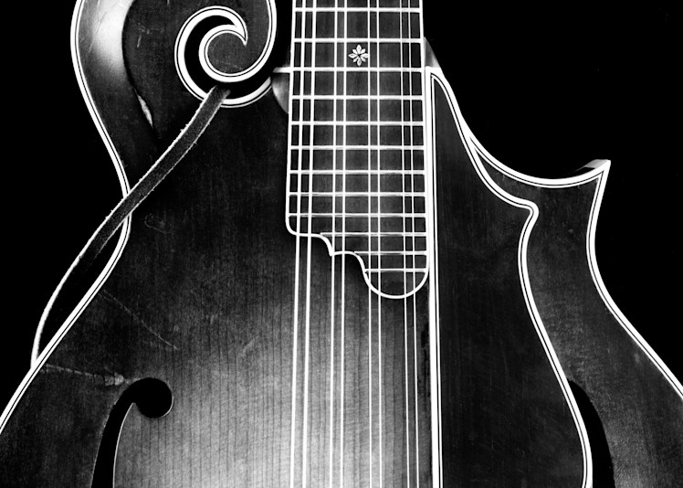 Dave Peter's Mandolin 1991 Photography Art | Rick Gardner Photography