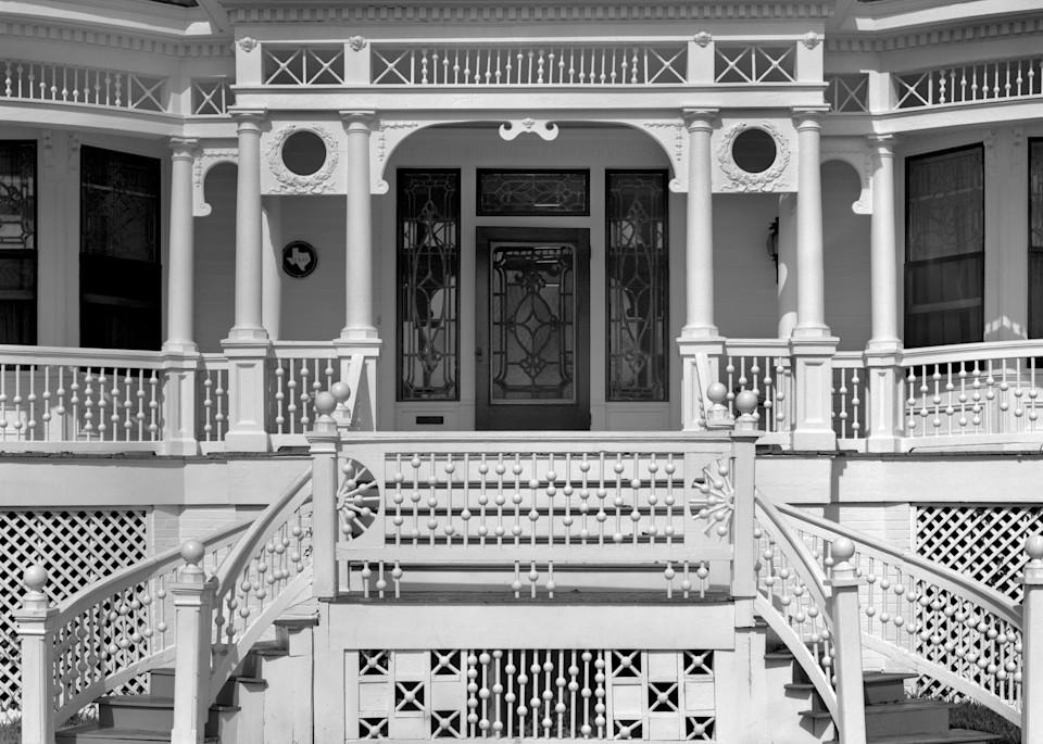 Gus Cranz House, 1874, Schulenburg, Texas (1975) Photography Art   Rick Gardner Photography