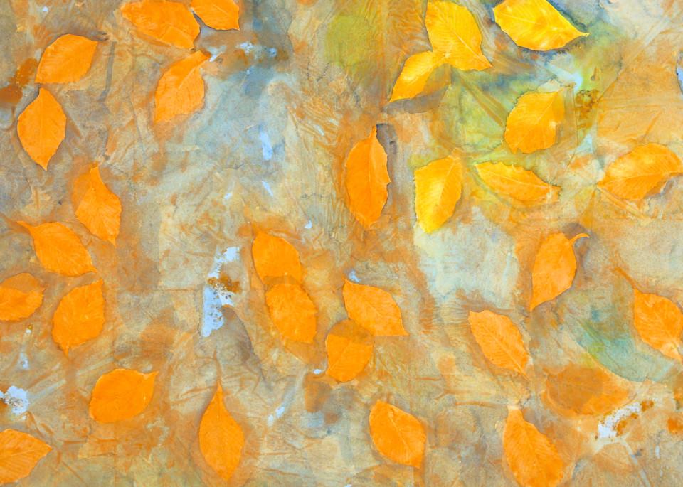 Yellow Leaves Art | Courtney Miller Bellairs Artist