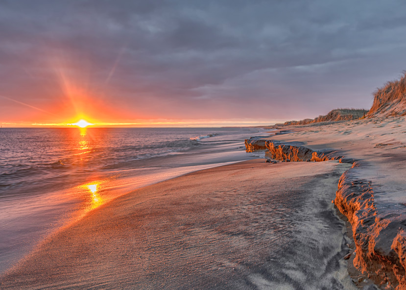 South Beach Winter Sun Art | Michael Blanchard Inspirational Photography - Crossroads Gallery