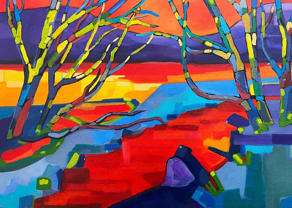 Afternoon Reflection (Print) Art | Marissa Sweet