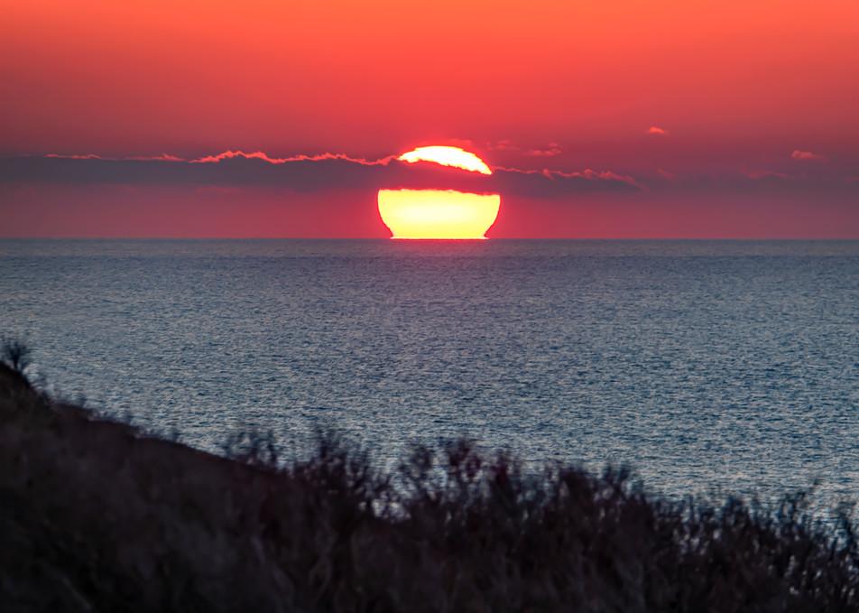 Gay Head Cliffs Winter Ocean Sunset Art | Michael Blanchard Inspirational Photography - Crossroads Gallery