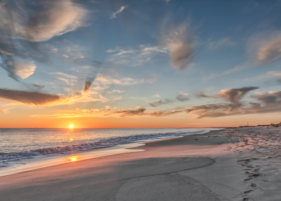 South Beach Sand And Clouds Art | Michael Blanchard Inspirational Photography - Crossroads Gallery