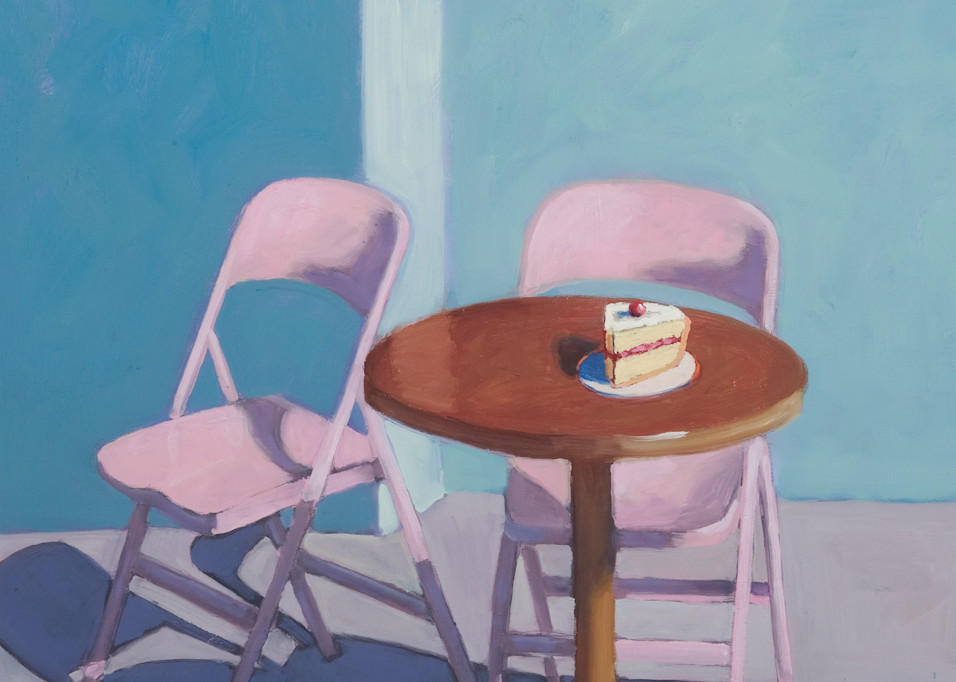 Waiting For Thiebaud Art | KnottJust Art