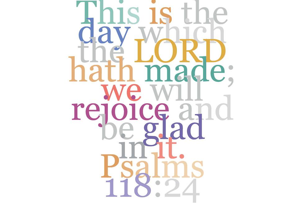Psalms 118:24 Wall Decor