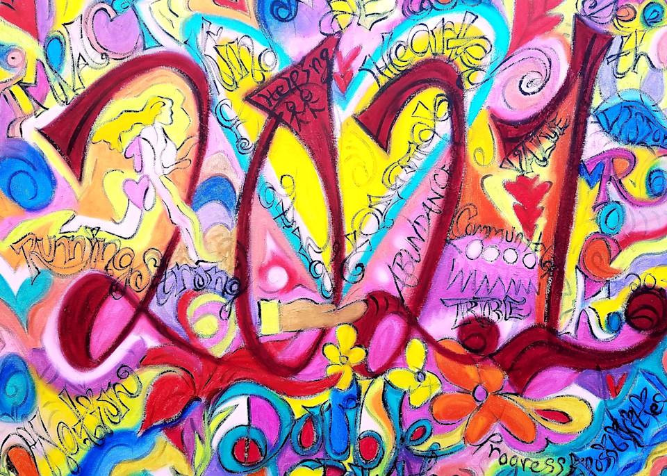Painted Word Art