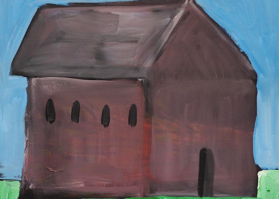 Brown Barn Art   stephengerstman