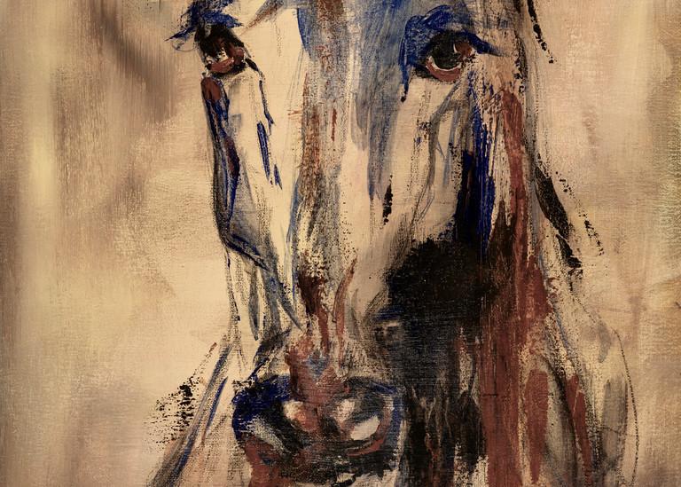 Giclee Art Print Horse Head I