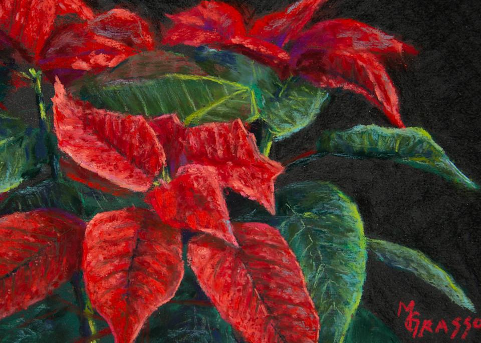 Poinsettias Art   Mark Grasso Fine Art