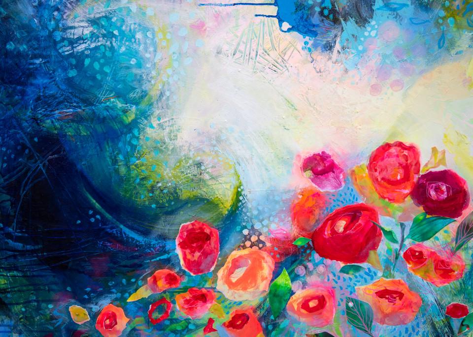 And Still I Will Bloom Art   Jessica Hughes Fine Art