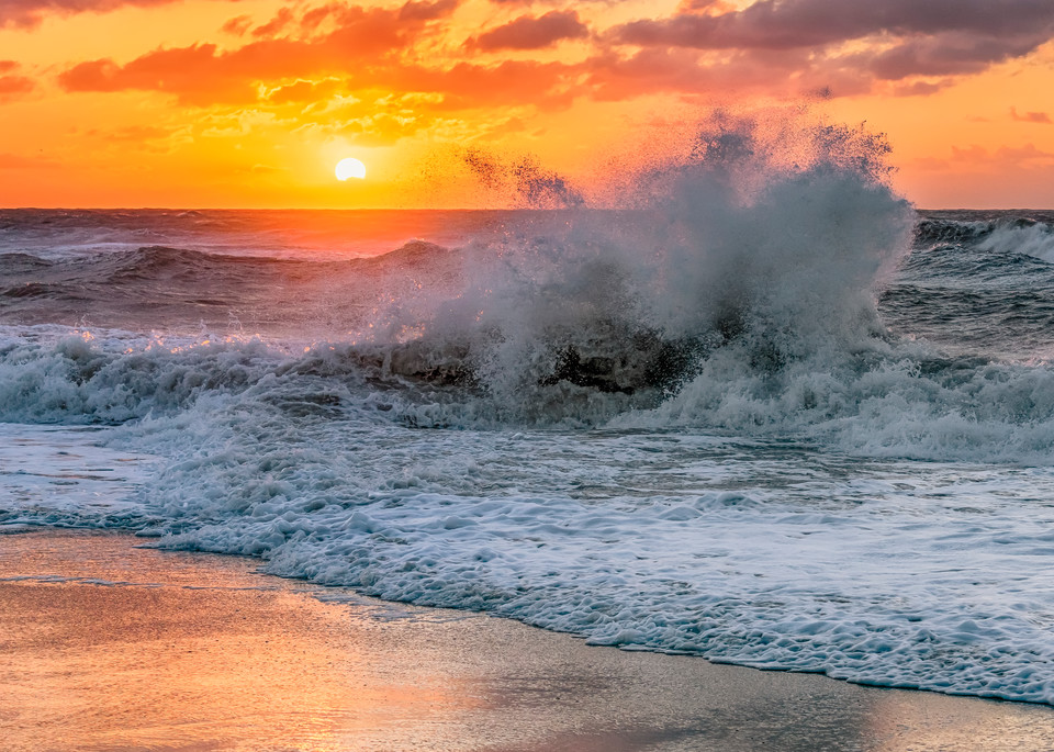 Lucy Vincent Winter Crashing Waves Art   Michael Blanchard Inspirational Photography - Crossroads Gallery