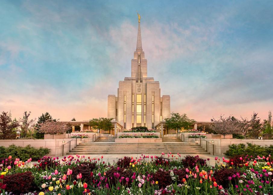 Oquirrh Mountain Temple - Spring Splendor