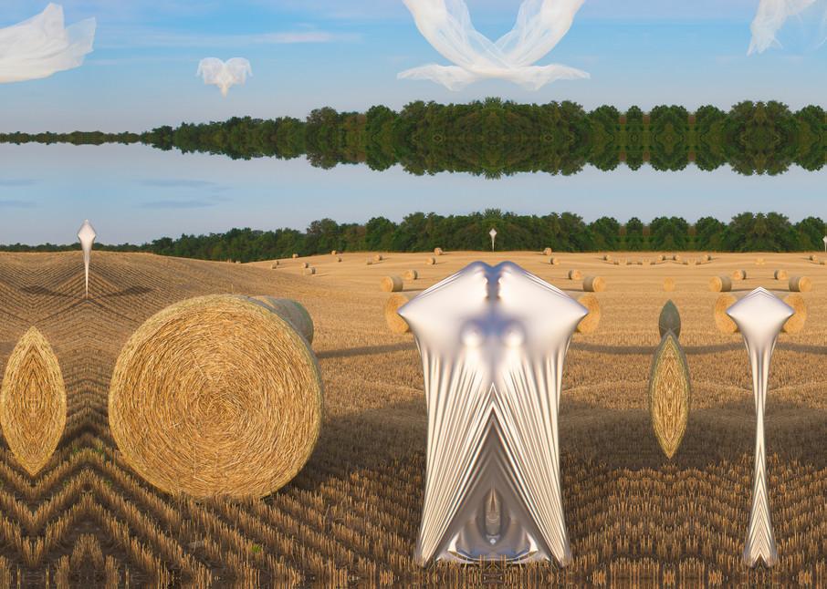 Marsha Gray Carrington surreal figurative photo-fusion