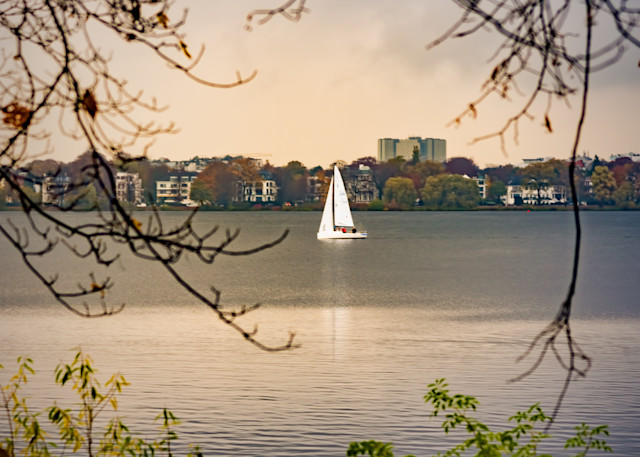 Sailing After The Rain In Hamberg Photography Art | Grace Fine Art Photography by Beth Sheridan