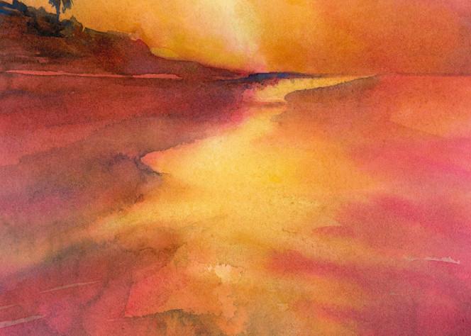 Sanibel Sunset 2 Art | ArtByPattyKane