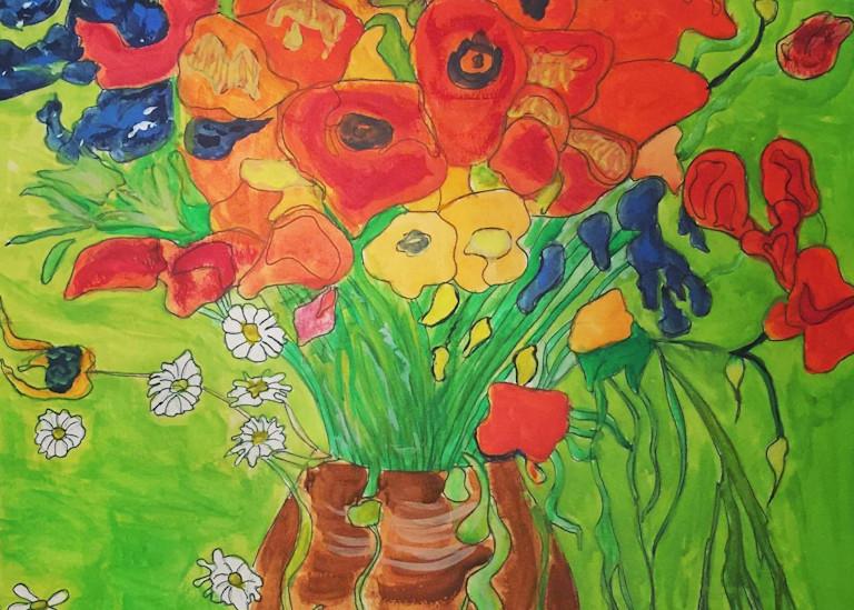 Belgian Flowers Art | Scott Dyer Fine Art