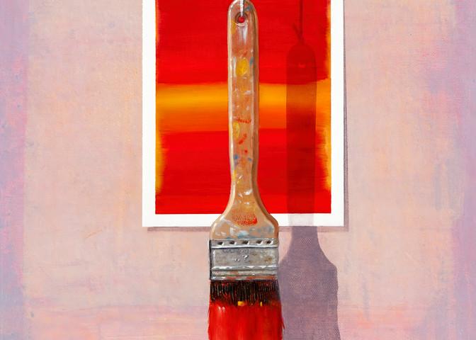 Brush Fire Art   Richard Hall Fine Art