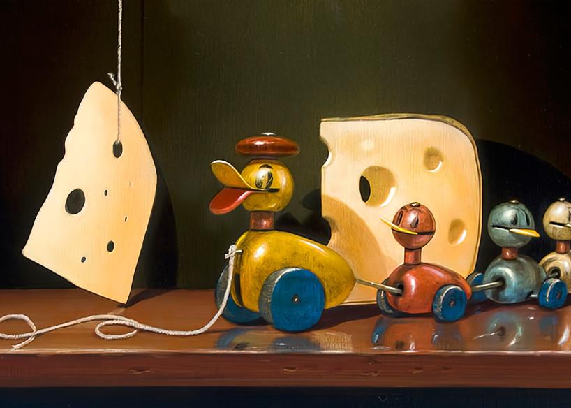 Cheese And Quackers Art | Richard Hall Fine Art
