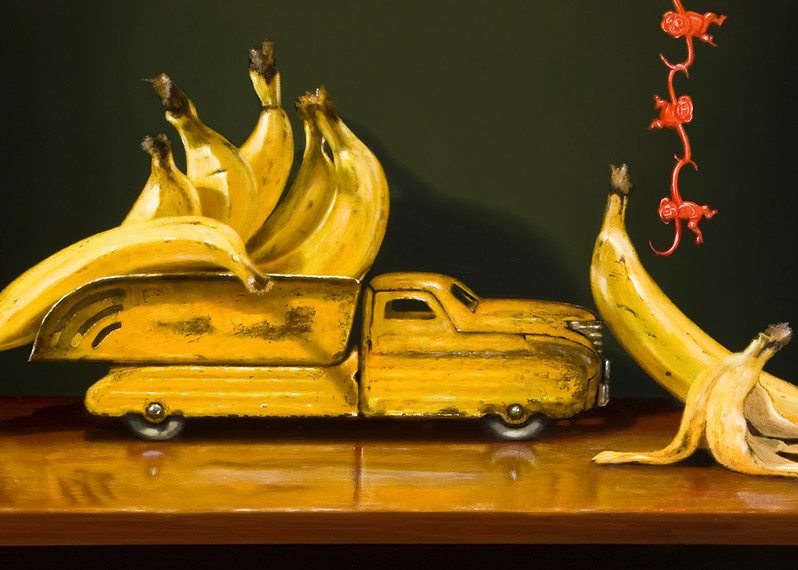 Going Bananas Art   Richard Hall Fine Art