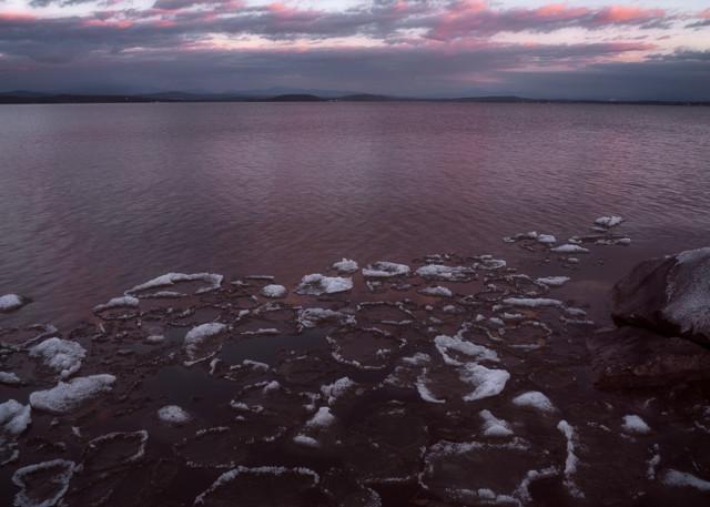 Island Line Ice   South Hero Photography Art   C.H.Diegel Photography