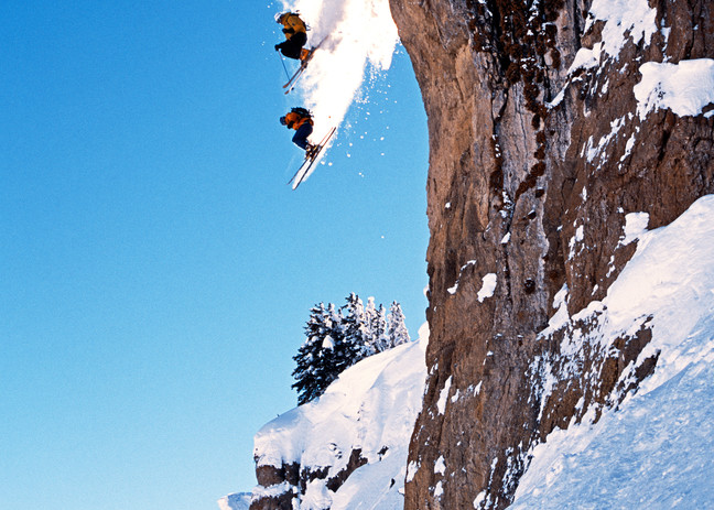 The Diving Board, Grand Targhee, WY