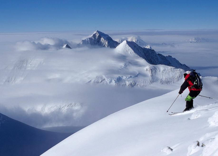 Doug Coombs, Vinson Massif, Antarctica